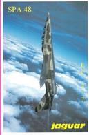Avion De Chasse Jaguar E Bi-place En Vertical De L'Escadron 2/7  De La SPA 48 - 1946-....: Ere Moderne
