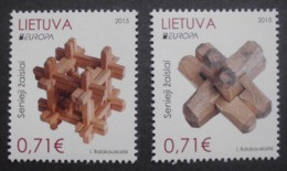 Litauen      Historisches Spielzeug    Europa Cept   2015  ** - 2015