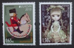 Bulgarien      Historisches Spielzeug    Europa Cept   2015  ** - 2015