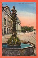 ZNC-24  Bern Kindlifresserbrunnen . Stempel Gründungskongress Der Internationalen Vereinigung Zivilstandsbeamten. 1926 - BE Berne