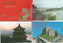 China, Beijing Scenes. 10 Cartoline In Cofanetto China National Stamp Corporation. - China