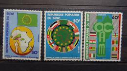 1979 Yv 438-440 MNH A36-37 - Benin – Dahomey (1960-...)