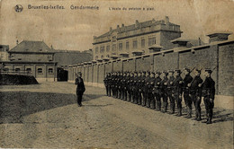 Ixelles Gendarmerie L'Ecole Du Peloton à Pied - Ixelles - Elsene