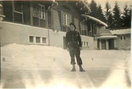 CHAMONIX 1950  PHOTO ORIGINALE 8.50  X 6 CM - Places