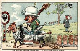 CPA - WW1 WWI Propaganda Propagande - KAISER - E. MULLER - Umoristica Satirica, Humour Satirique - NV - KV509 - Oorlog 1914-18