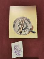 RARE Petite Affiche Carton Invitation KLAPHECK Galerie MAEGHT 1985 En Tres Bon état - Posters