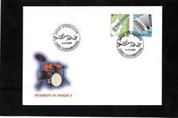 LSC 2000  - LUXEMBOURG - INSTRUMENTS De MUSIQUE - YT  1472 & YT 1473 - Music