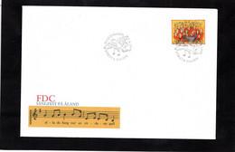 LSC 1996 - ALAND - SANGFEST PA ALAND - FDC - Music