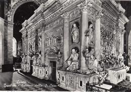 CARTOLINA  LORETO,ANCONA, MARCHE,BASILICA-ESTERNO DELLA S.CASA,BELLA ITALIA,STORIA CULTURA,RELIGIONE NON VIAGGIATA - Ancona