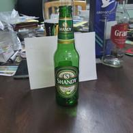 ISRAEL-SHANDY-beer With Apple Flavored Drink-(1.9%)-(330ml)-bottle Glasse-used - Beer