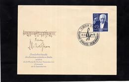 LSC 1954 - ALLEMAGNE - RICHARD STRAUSS - Cachet BERLIN Sur YT 109 - Music