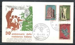 1975 - FDC (377) - F.D.C.