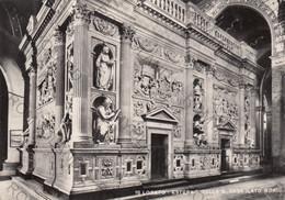 CARTOLINA  LORETO,ANCONA, MARCHE,ESTERNO DELLA S.CASA,LATO NORD,BELLA ITALIA,STORIA CULTURA,RELIGIONE,VIAGGIATA - Ancona