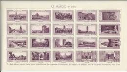 FRANCE VIGNETTE LA Belle France LE MAROC 1ere Série Violet Cinderella Poster Stamp - Turismo (Vignette)