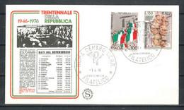 1976 - FDC (386) - F.D.C.