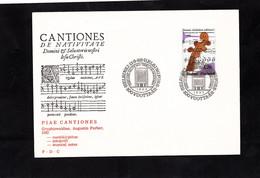 FDC 1982 - SUOMI FINLAND - CANTIONES DE NATIVITATE - Cachet HELSINKI Sur YT 860 - Music