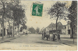 FRANCE - RARE - LE MANS - Route D'Alençon - Carrefour De La Chasse Royale - 1907 - Le Mans