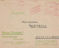 Francotyp A - Bonn Älteste Kautschuk Pflasterfabrik 1931 4731 Vulnoplast - Geneeskunde