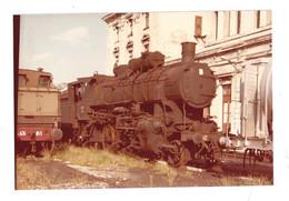 CARTOLINA STAZIONE TRIESTE CAMPO MARZIO - Trains