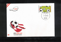 Austria / Oesterreich 2008 European Football Championship Austria / Switzerland ATM  FDC - Eurocopa (UEFA)