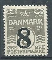 Danemark YT N°127 Vagues Surchargé Oblitéré ° - Used Stamps