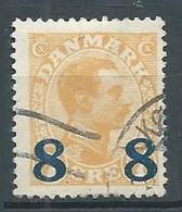 Danemark YT N°128 Roi Christian X Surchargé Oblitéré ° - Used Stamps