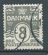 Danemark YT N°134 Vagues Surchargé Oblitéré ° - Used Stamps