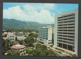 HONDURAS San Pedro Sula Banco Atlantico Y Gran Hotel Sula / Avant 1986 / Non Voyagée - Honduras