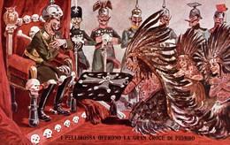 CPA - WW1 WWI Propaganda Propagande - KAISER, KRONPRINZ - Umoristica Satirica, Humour Satirique - NV - KV541 - Oorlog 1914-18