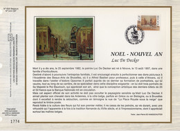 Belgique - CEF N°658 - Noel - 1991-2000