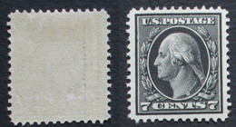 Etats Unis 1912 Yvert 184 7 C - Unused Stamps