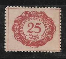 LIECTENSTEIN - Serie Números Y Lugares 1920 Sello De Servicio - RARO - Gebraucht