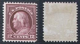 Etats Unis 1912 Yvert 189 12c - Unused Stamps