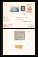 4699/ France Lettre Recommandé N°701 Dulac + Bergson Paris Alleray Pour Bildstock Sarre Allemagne (germany) 1961 - 1921-1960: Periodo Moderno