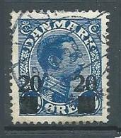 Danemark YT N°173 Roi Christian X Surchargé Oblitéré ° - Used Stamps