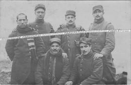1914 - 1915 / CARTE PHOTO / 112e RI ( TOULON ) / SECTEUR AVOCOURT / 112e REGIMENT D'INFANTERIE / POILUS / 1914 - 1918 - Oorlog, Militair