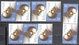 Poland 2005 - Konstanty Ildefons Galczynski - Combinations - Mi 4168 - MNH(**) - Unused Stamps