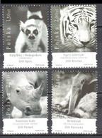 Poland 2005 - Zoo Animals - Mi 4208-11 - MNH(**) - Unused Stamps