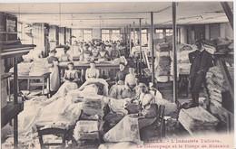 LILLE - Industrie Tullière, Le Découpage Et Le Pliage De Rideaux / Textile /  RARE / - Industrie