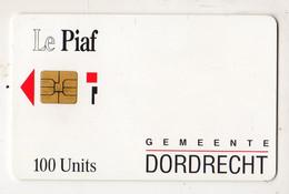 PIAF PAYS BAS DORDRECHT 100U - Tarjetas De Estacionamiento (PIAF)