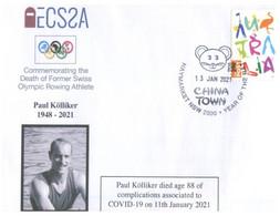 (NN 27) (Australia) COVID-19 Pandemic Related Death - Olympic Swiss Paul Kölliker - Rowing 11-1-2021) - Ziekte
