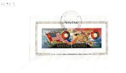 (NN 27) Aitutaki FDC - 1975 - Cook Islands - Experimental USA - USSR Space Flight - Aitutaki