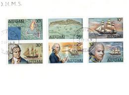 (NN 27) Aitutaki FDC - 1974 - Cook Islands - Capt James Cook (OHMS) - Aitutaki