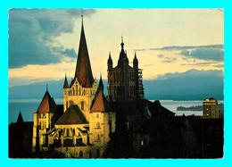 A857 / 465 Suisse LAUSANNE Cathédrale Au Crépuscule ( Timbre ) - VD Vaud