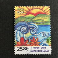 ◆◆◆ INDIA  2016   SWACHH BHARAT  ,    25r    USED  AB6169 - Used Stamps