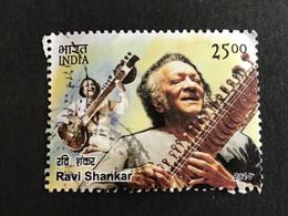 ◆◆◆ INDIA  2014  Ravi  Shankar  ,    25r    USED  AB6170 - Used Stamps