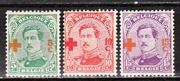 152/54  Croix-Rouge - Bonne Valeur - MNG - LOOK!!!! - 1918 Red Cross