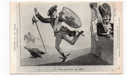 L'ESTAMPE AU XIXe SIÈCLE - Napoléon Et Son époque - Le Don Quichotte Du Midi - La Fuite Du Comte-d'Artois  (T70) - Personaggi Storici