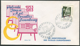 Luxemburg - Luxembourg - Michel  666 Auf FDC Mit Melusina-SSt - Commemoration Cards