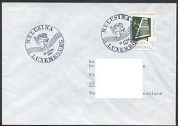 Luxemburg - Luxembourg - Michel  666 Auf FDC Mit Melusina-SSt - Echt Gelaufen - Commemoration Cards